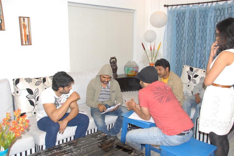 Sudheer Babu Nice Look Still On The Sets Of Prema Katha Chitram Movie