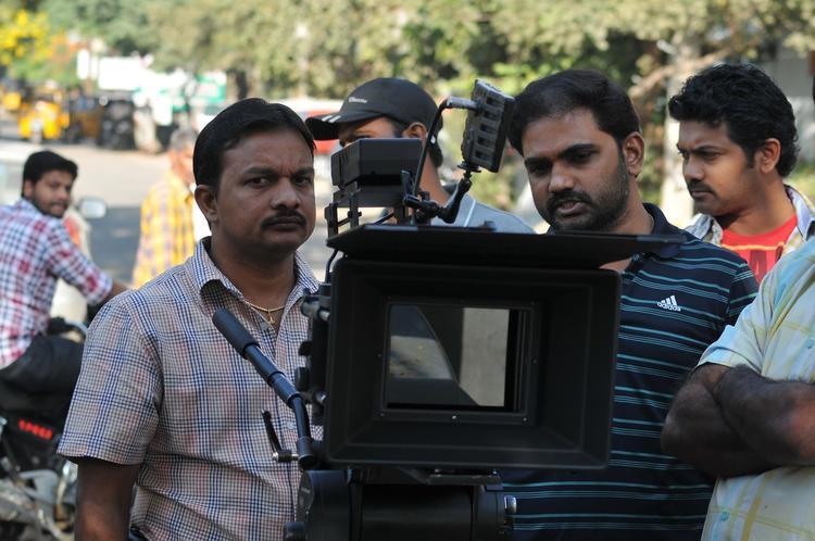 Sudheer Babu On The Sets Of Prema Katha Chitram Movie