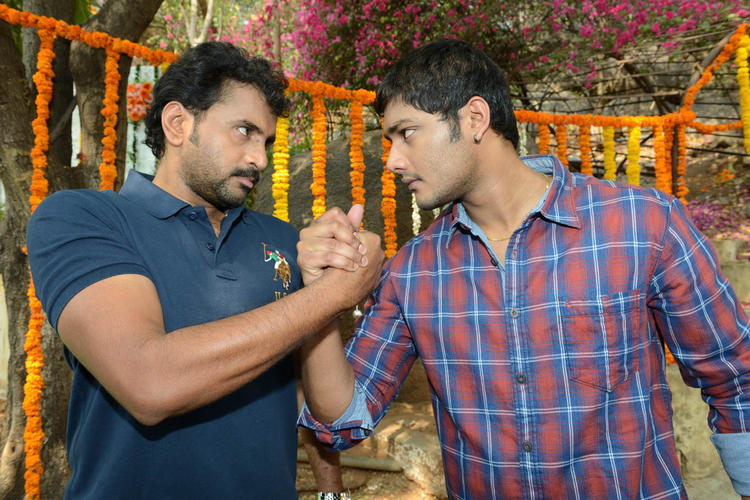Prince And Sethu Angry Look Photo Clicked At Full House Entertainments Movie Launch
