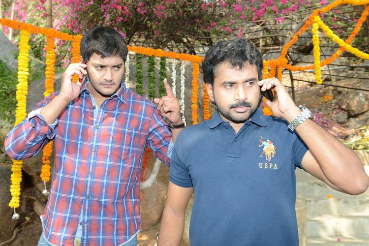 Prince And Sethu Snapped At Full House Entertainments Movie Launch