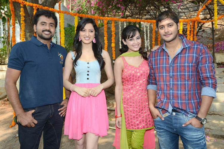 Sethu,Richa,Disha And Prince Make An Appearance At Full House Entertainments Movie Launch
