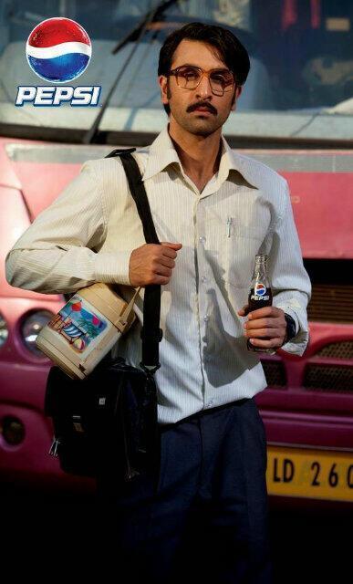 Ranbir Kapoor New Avatar For New Pepsi IPL Commercial Ad
