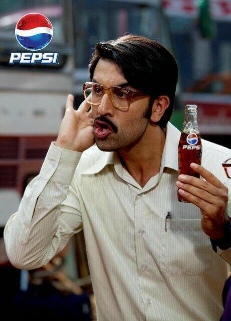 Ranbir Kapoor Nice Look Shoot For New Pepsi IPL Commercial Ad