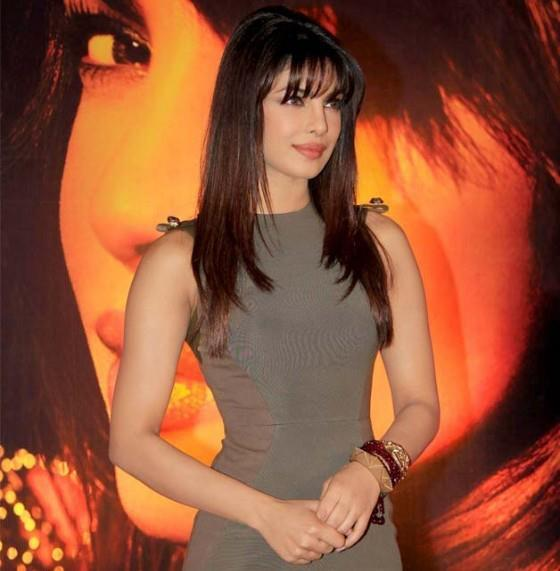 Priyanka Looked Beautiful At Launch Of New Song From Her Album