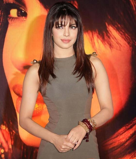 Priyanka Make An Appearance At Launch Of New Song From Her Album