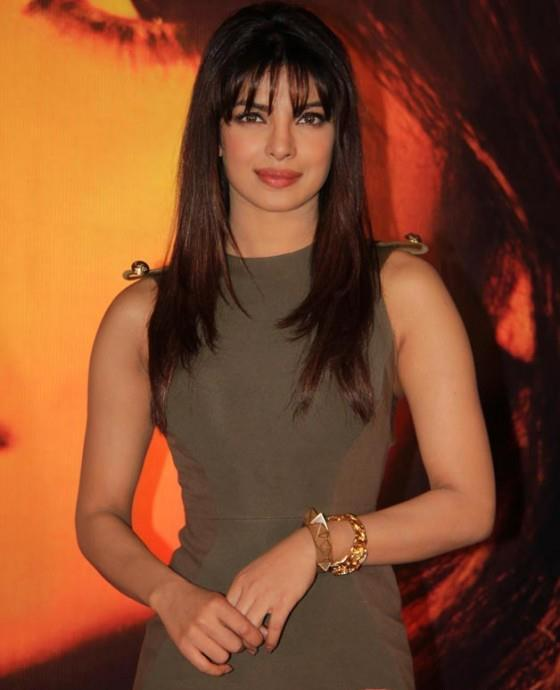 Priyanka Snapped At Launch Of New Song From Her Album