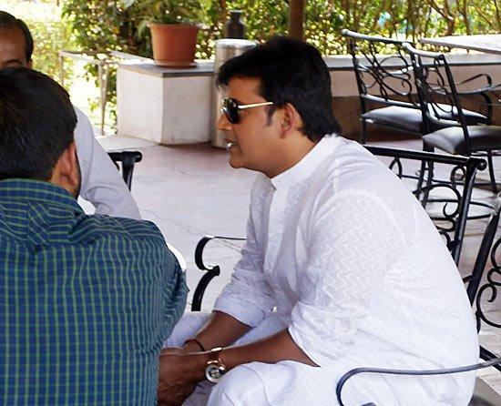 Ravi Kishan Shukla Present On The Sets Of Dussehra Movie