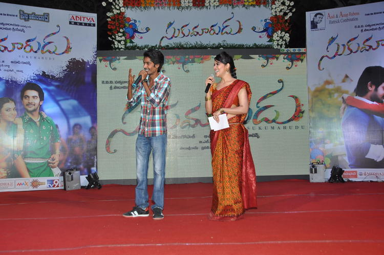 Anasuya On The Stage Still