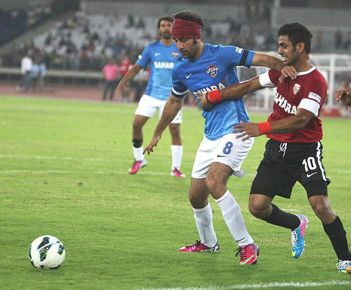 Ranbir Kapoor Try To Kicks The Football At All Stars Football Club Charity Match