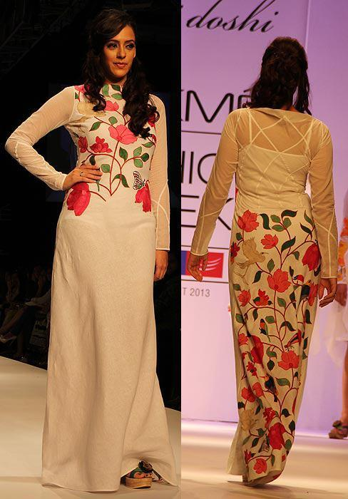 Hazel Keech Graced On Ramp At Lakme Fashion Week Summer Resort 2013