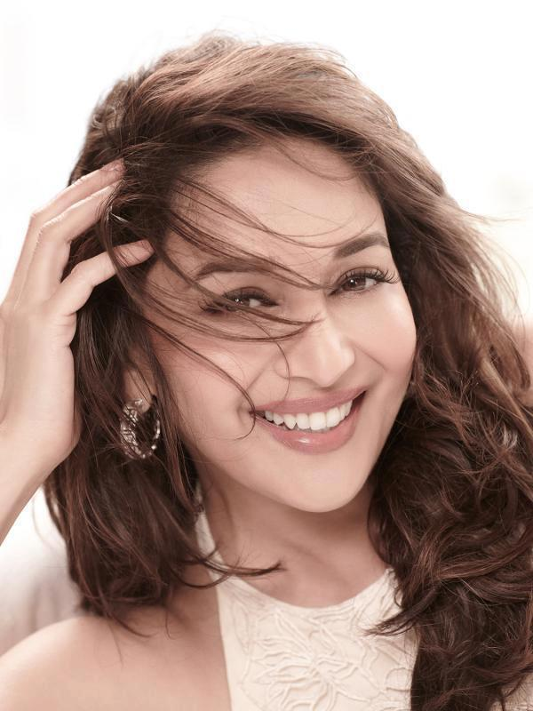 Madhuri Completed Her Look With Flowing Hair Photo Shoot For Femina March 2013 Issue