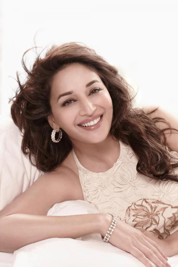 Madhuri Cute Smiling Photo Shoot For Femina March 2013 Issue