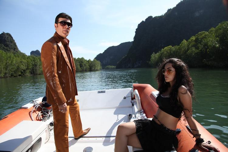 Bad Boy Aditya On Boat Photo Still From Movie Shadow