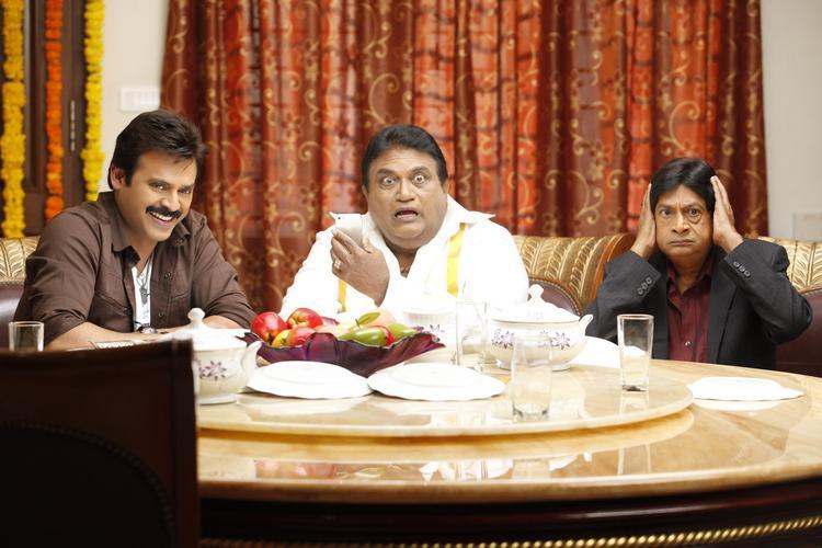 Venkatesh,Jaya Prakash And M.S.Narayana Latest Photo Still From Movie Shadow