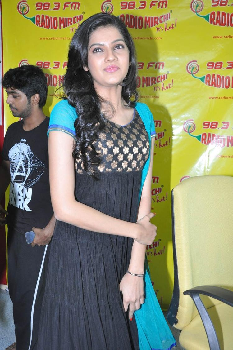 Ashritha Looked Beautiful At NH4 Movie Audio Release Function