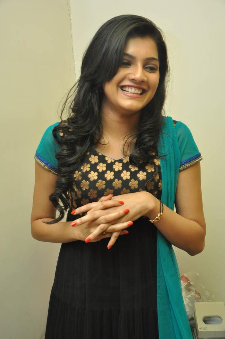 Ashritha Photo Still At NH4 Movie Audio Release Function