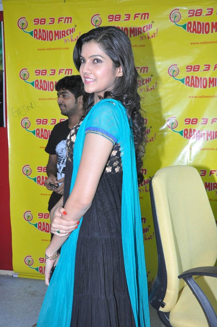 Ashritha Sizzling Look Photo Still At NH4 Movie Audio Release Function