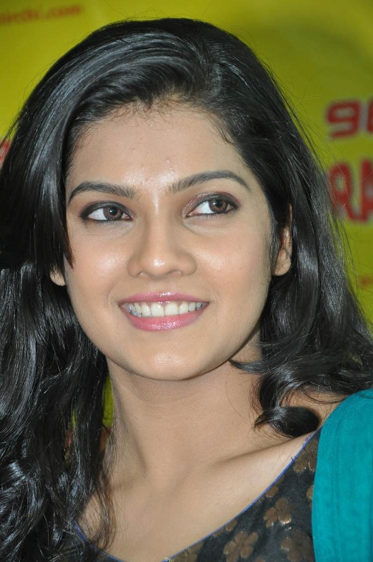 Ashritha Trendy Looking Photo Still At NH4 Movie Audio Release Function