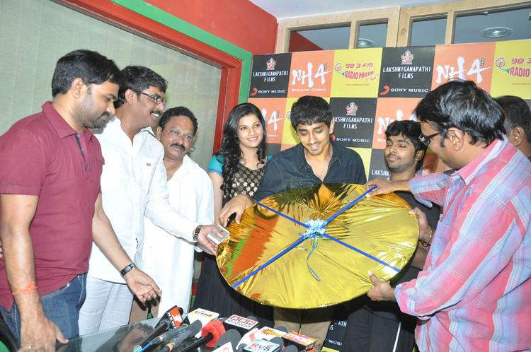The Team Launches Udhayam NH4 Movie Audio CD