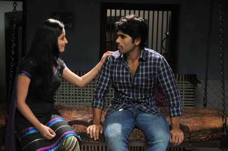 Allu Sirish And Yami Cute Look Photo Still From Movie Gouravam