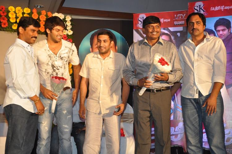 Arya And Suresh Spotted At Crazy Audio Launch Function