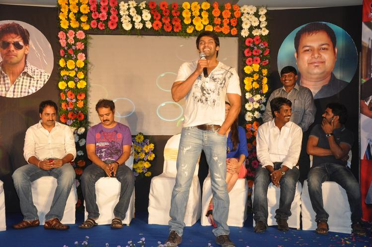 Arya Speaks Out Photo Clicked At Crazy Audio Launch Function