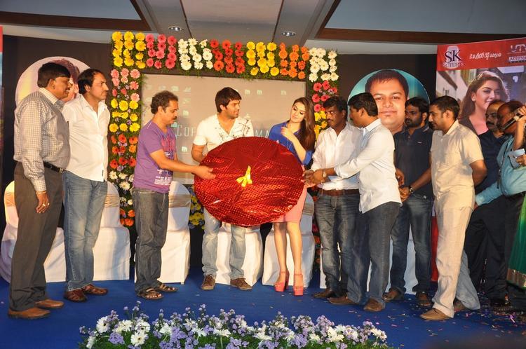 Arya,Hansika,R.Kannan,Suresh And Maruthi Present At Crazy Audio Launch Function