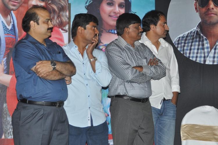 Suresh With Guests Snapped At Crazy Audio Launch Function