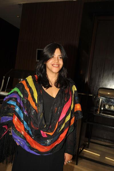 Ekta Kapoor Spotted At The Launch Of Book Daayan