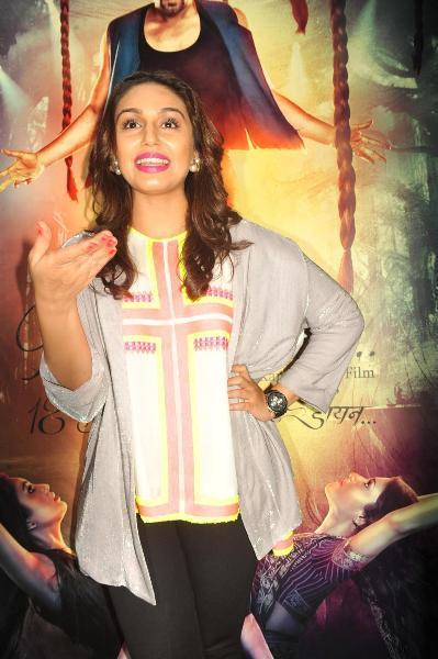 Huma Qureshi Nice Expression Photo Clicked At The Launch Of Book Daayan