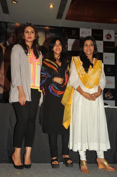 Huma,Ekta And Konkona Make an Appearance At The Launch Of Book Daayan
