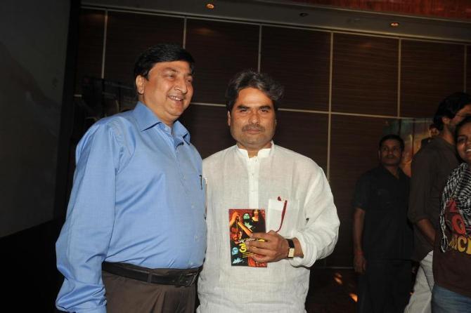 Ved Prakash  And Vishal Snapped At The Launch Of Book Daayan