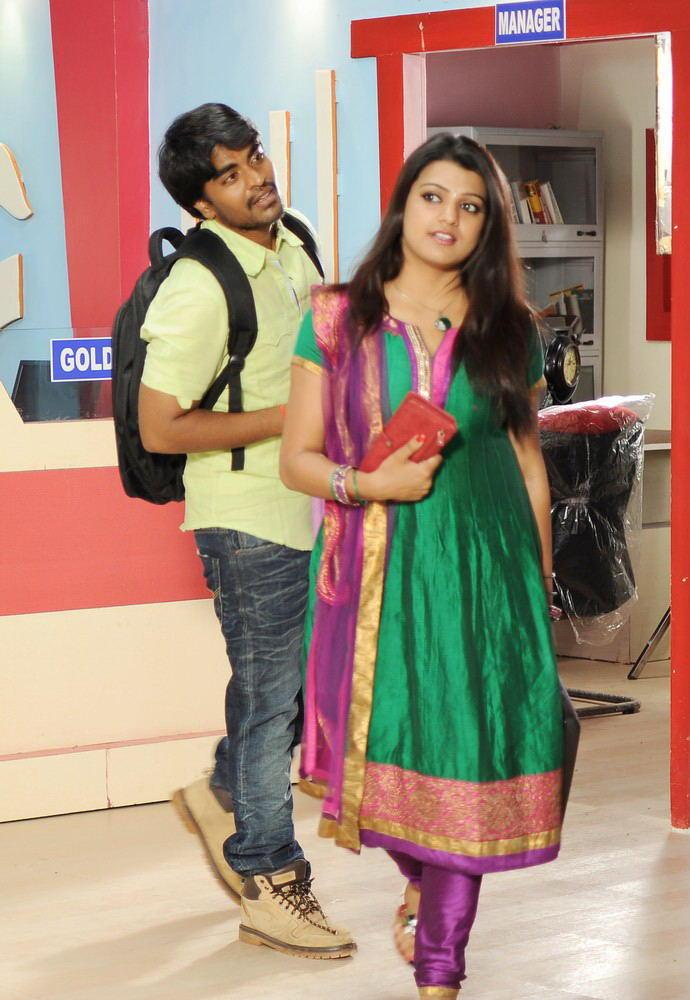 Srinivas And Tashu Exclusive Photo Still From Movie Gola Seenu