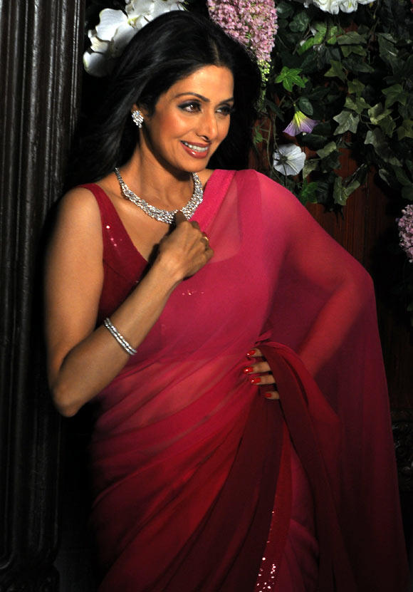Sridevi Gorgeous Look Photo Shoot For Tanisq Jewellery