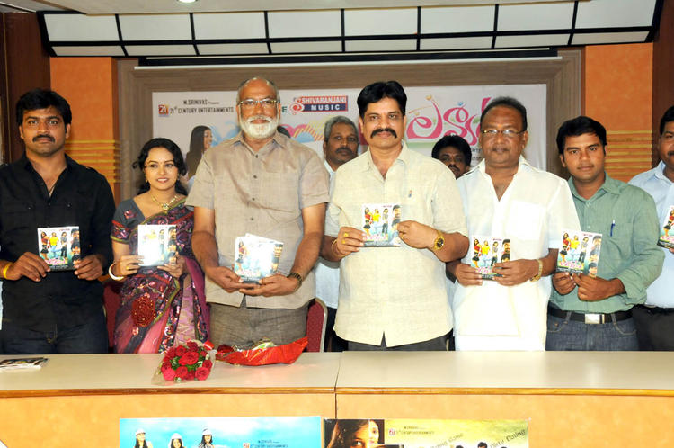 Lavanya,T Prasanna,Sagar,Chadalavada And Abbas Posed For Camera At Lavvata Audio Launch