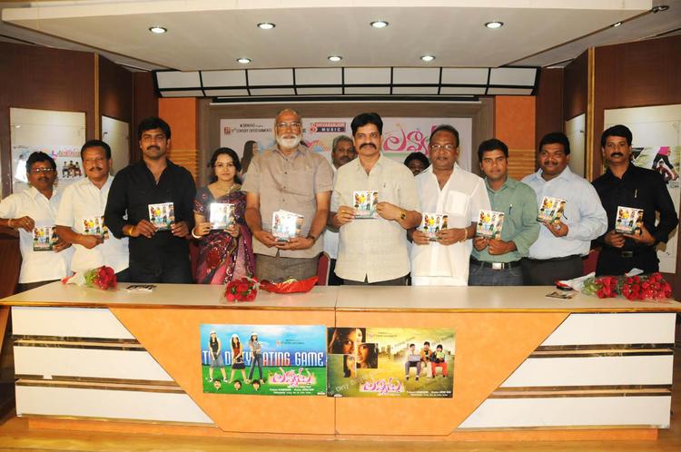 Lavanya,T Prasanna,Sagar,Chadalavada And Abbas Snapped At Lavvata Audio Launch