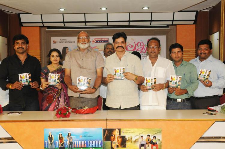 Lavanya,T Prasanna,Sagar,Chadalavada And Abbas Spotted At Lavvata Audio Launch