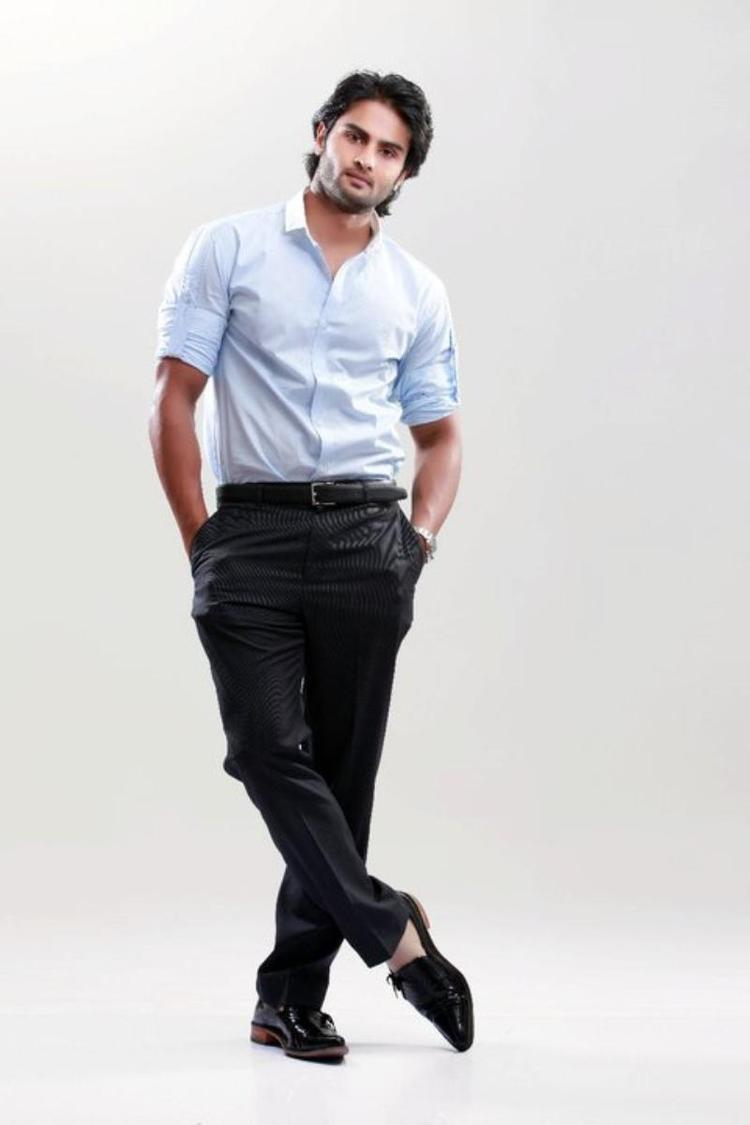 Actor Sudheer Babu Formal Look Photo Still