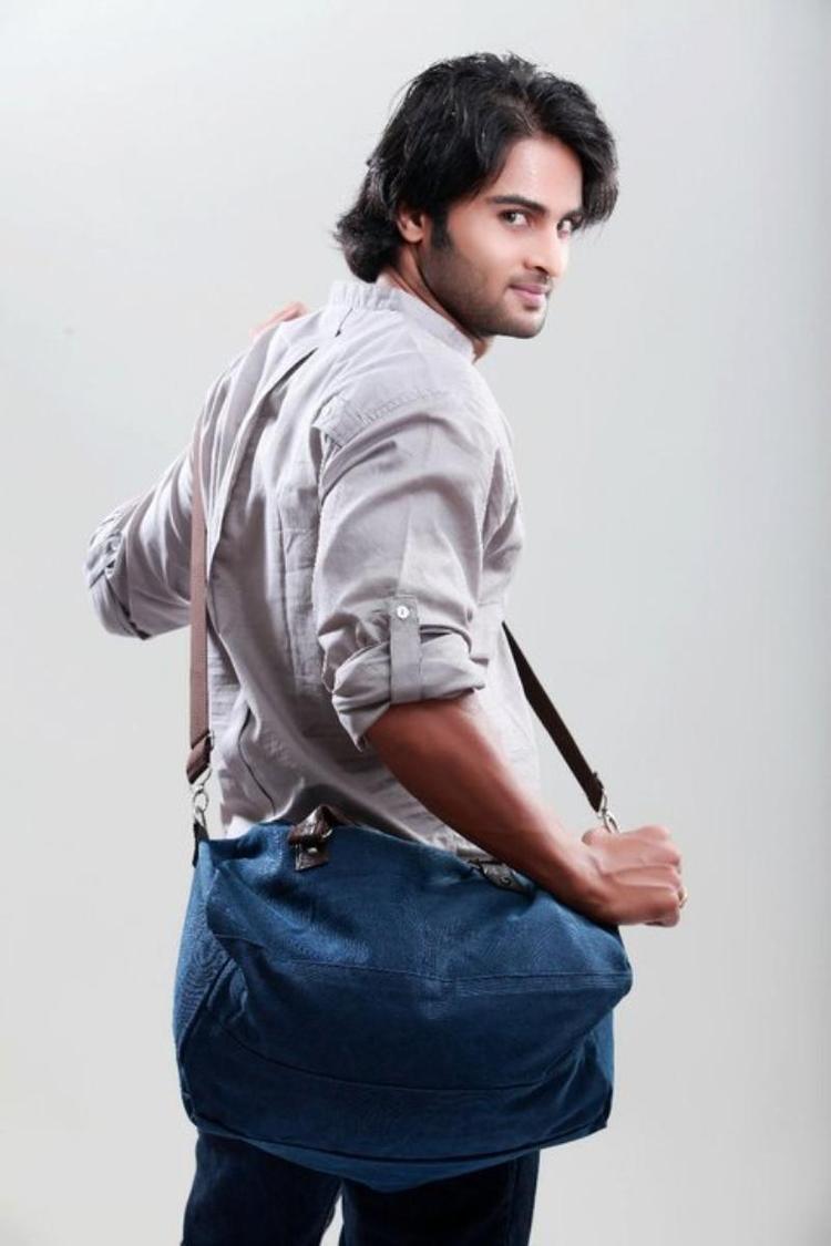 Sudheer Babu Nice Back Look Photo Still