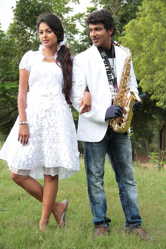 Monal And Sravan Gorgeous Look Photo Still From Oka Collage Story Movie