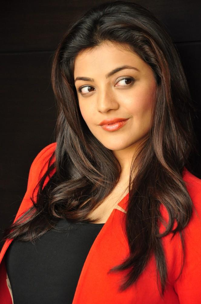 Kajal Looked Radiant And Beautiful Photo Still At Baadshah Interview
