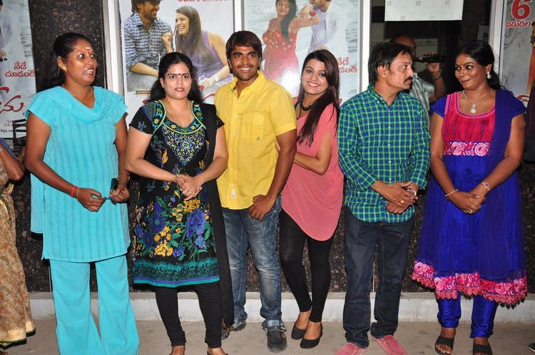 Srinivas,Tashu,Raj Kandukuri And Jayavani Photo Clicked At Gola Seenu Press Meet