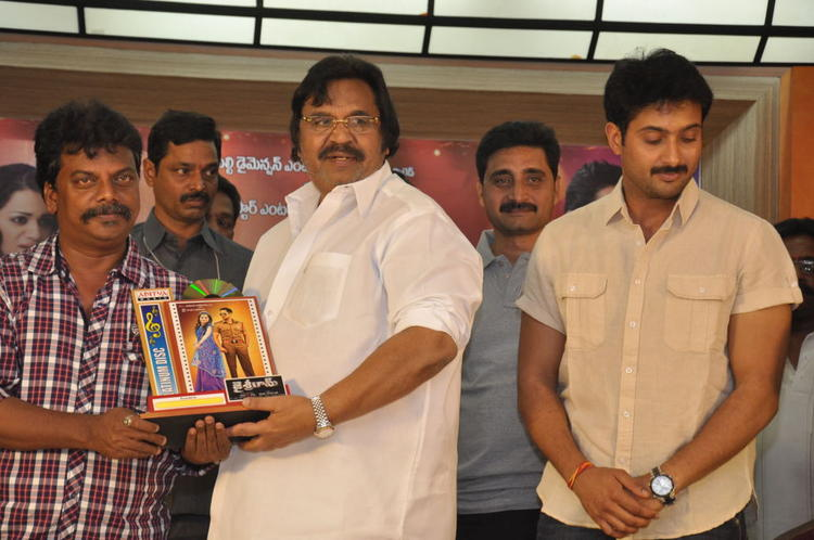 Dasari Narayana And Uday Snapped At Jai Sriram Movie Platinum Disc Function
