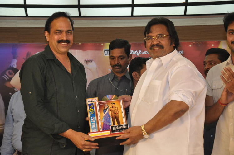 Dasari Narayana Snapped At Jai Sriram Movie Platinum Disc Function