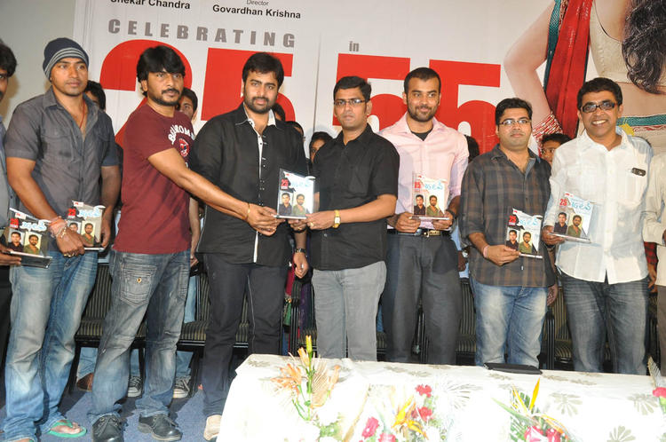 Nara And Venkatapathy With The Team Snapped At 3G Love 25 Days Celebrations Press Meet