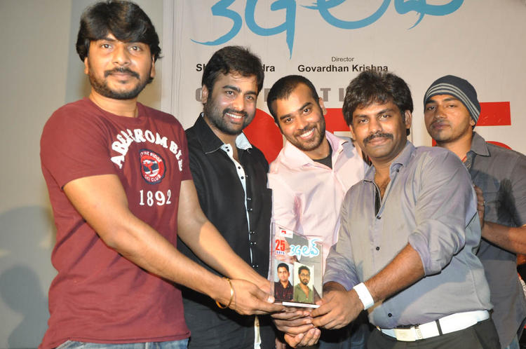 Nara Rohit Spotted At 3G Love 25 Days Celebrations Press Meet