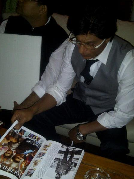 Shahrukh Khan Launches The Filmfare Special Issue