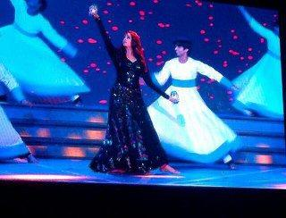 Aishwarya Looking Gorgeous In A Dance At TOIFA In Vancouver
