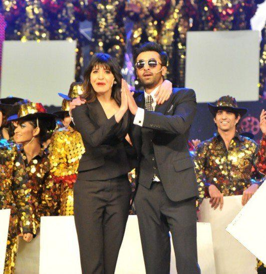 Anushka And Ranbir Looks Dapper In Suit At TOIFA