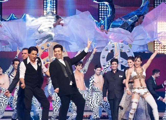 Karan Johar And Shiamak Davar Shake A Leg On Stage At TOIFA